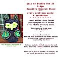Brooklyn General owly invite